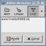 Editor de textos